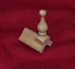 1489 End Ridge Tile & Finial 45 degree